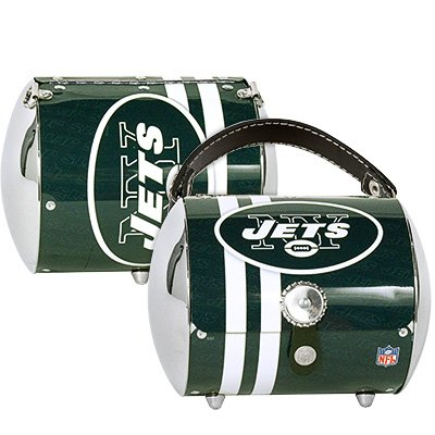 New York Jets Littlearth Super Cyclone Purse Bag Gift