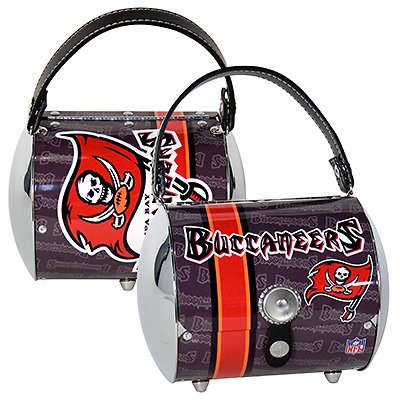 Tampa Bay Buccaneers Littlearth Super Cyclone Purse Bag Gift
