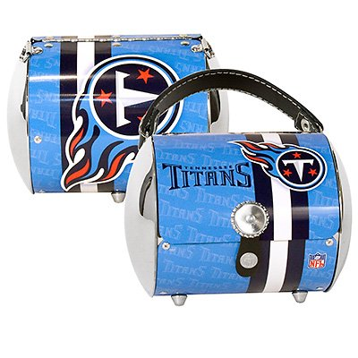 Tennessee Titans Littlearth Super Cyclone Purse Bag Gift