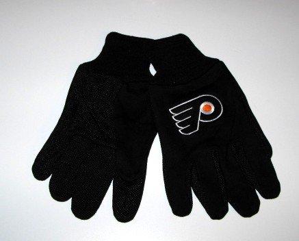 Philadelphia Flyers Black Work Garden Gloves Gift