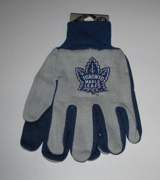 Toronto Maple Leafs 2-Tone Work Garden Gloves Retro Logo Gift