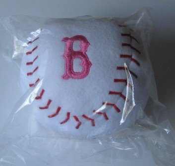 Boston Red Sox Baby Team Ball Plush Baseball PINK Toy