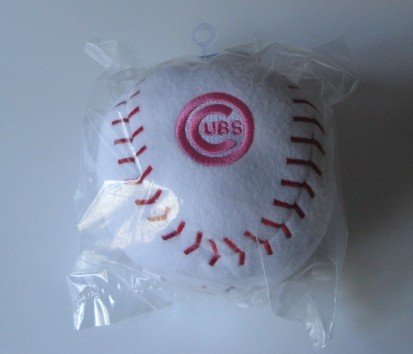 Chicago Cubs Baby Team Ball Plush Baseball Toy Gift PINK