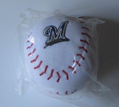Milwaukee Brewers Baby Team Ball Plush Baseball Toy Gift