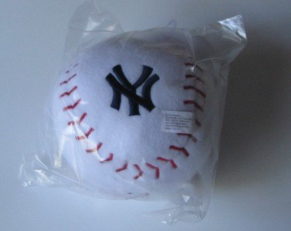 New York Yankees Baby Team Ball Plush Baseball Toy Gift