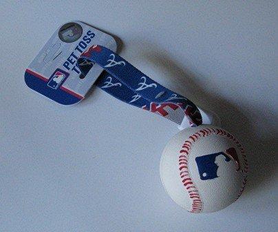 Atlanta Braves Pet Dog Baseball Ball Toss Tug Toy Gift