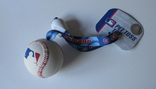 Chicago Cubs Pet Dog Baseball Ball Toss Tug Toy Gift