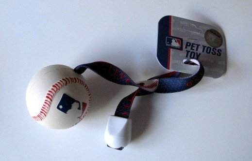 Cleveland Indians Pet Dog Baseball Ball Toss Tug Toy Gift