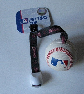 Houston Astros Pet Dog Baseball Ball Toss Tug Toy Gift