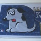 Kansas City Royals Dog Pet Food/Water Padded Mat Placemat Gift