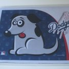 Los Angeles Dodgers Dog Pet Food/Water Padded Mat Placemat Gift