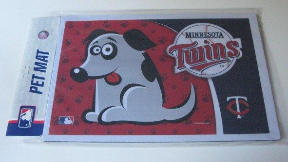 MInnesota Twins Dog Pet Food/Water Padded Mat Placemat
