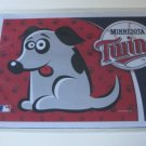 MInnesota Twins Dog Pet Food/Water Padded Mat Placemat