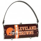 Cleveland Browns Littlearth Fender License Plate Purse Bag Gift