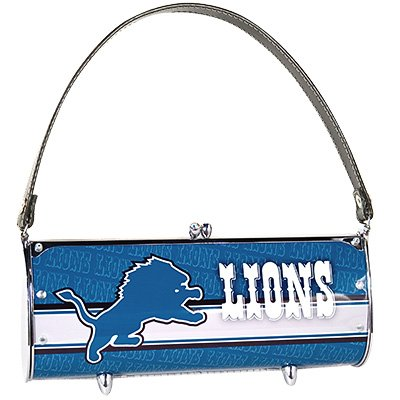 Detroit Lions Littlearth Fender License Plate Purse Bag Gift