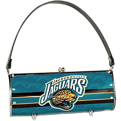 Jacksonville Jaguars Littlearth Fender License Plate Purse Bag Gift