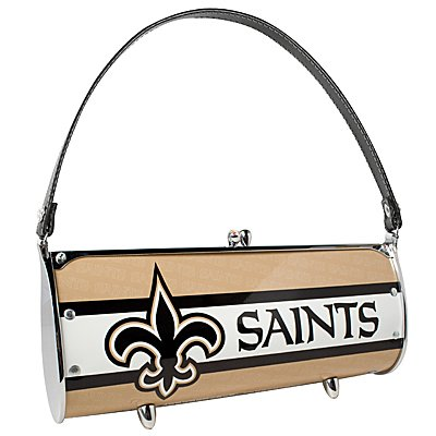 New Orleans Saints Littlearth Fender License Plate Purse Bag Gift