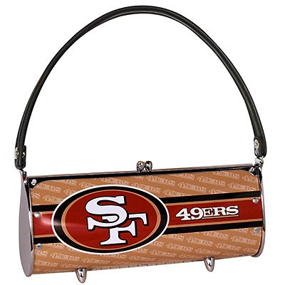 San Francisco 49ers Littlearth Fender License Plate Purse Bag Gift