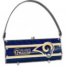 St. Louis Rams Littlearth Fender License Plate Purse Bag Gift