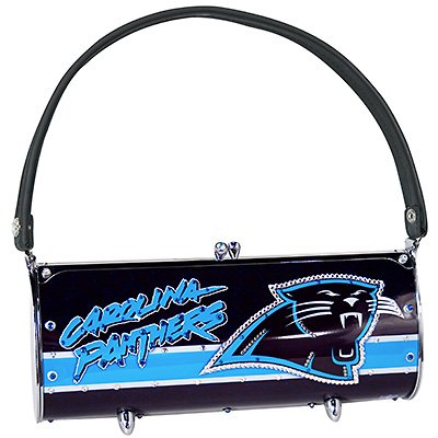 Carolina Panthers Littlearth Fender Flair Purse Bag Swarovski Crystals Gift