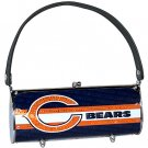 Chicago Bears Littlearth Fender Flair Purse Bag Swarovski Crystals Gift