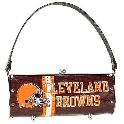 Cleveland Browns Littlearth Fender Flair Purse Bag Swarovski Crystals Gift