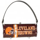 Cleveland Browns Littlearth Fender Flair Purse Bag Swarovski Crystals Gift