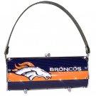 Denver Broncos Littlearth Fender Flair Purse Bag Swarovski Crystals Gift