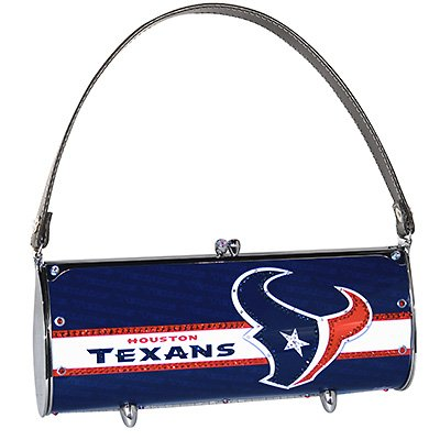 Houston Texans Littlearth Fender Flair Purse Bag Swarovski Crystals Gift