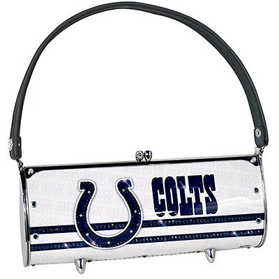 Indianapolis Colts Littlearth Fender Flair Purse Bag Swarovski Crystals Gift