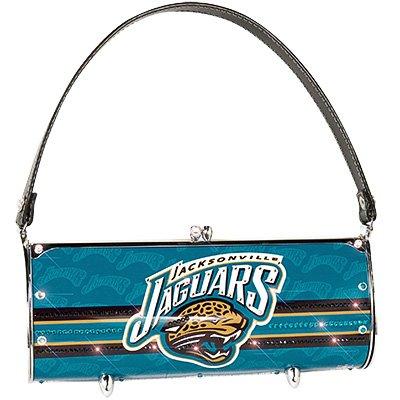 Jacksonville Jaguars Littlearth Fender Flair Purse Bag Swarovski Crystals Gift