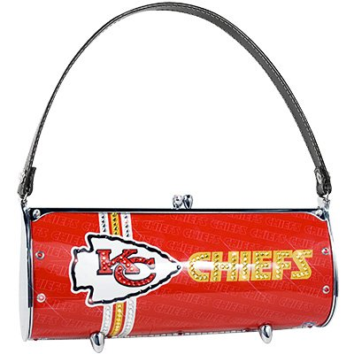 Kansas City Chiefs Littlearth Fender Flair Purse Bag Swarovski Crystals Gift