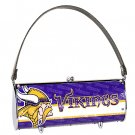 Minnesota Vikings Littlearth Fender Flair Purse Bag Swarovski Crystals Gift