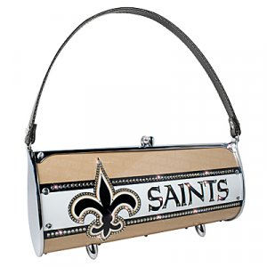 New Orleans Saints Littlearth Fender Flair Purse Bag Swarovski Crystals Gift
