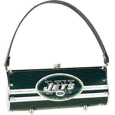 New York Jets Littlearth Fender Flair Purse Bag Swarovski Crystals Gift
