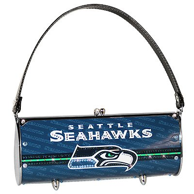 Seattle Seahawks Littlearth Fender Flair Purse Bag Swarovski Crystals Gift