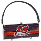 Tampa Bay Buccaneers Littlearth Fender Flair Purse Bag Swarovski Crystals Gift
