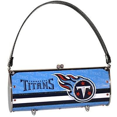 Tennessee Titans Littlearth Fender Flair Purse Bag Swarovski Crystals Gift