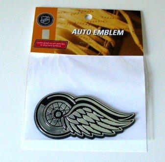 Detroit Red Wings Chrome Auto Car Emblem Gift