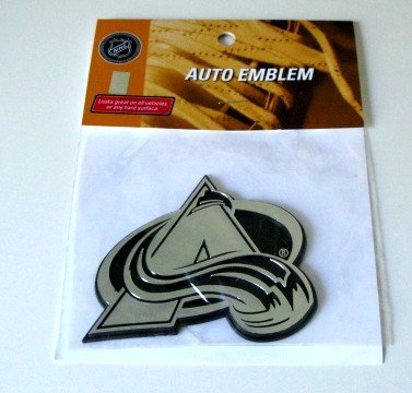 Colorado Avalanche Chrome Auto Car Emblem Gift