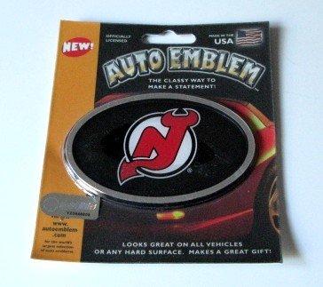 New Jersey Devils 3-D Color Chrome Auto Car Emblem Gift