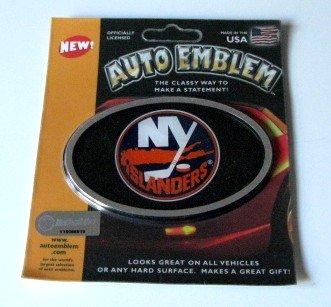 New York Islanders 3-D Color Chrome Auto Car Emblem Gift