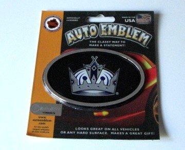 Los Angeles Kings 3-D Color Chrome Auto Car Emblem Gift