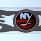 New York Islanders 3D Auto Car Graphic Chrome Flames Gift