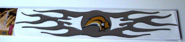 Buffalo Sabres 3D Auto Car Graphic Chrome Flames Gift