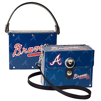 Atlanta Braves Littlearth Fanatic License Plate Purse Bag Gift