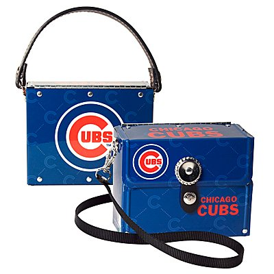 Chicago Cubs Littlearth Fanatic License Plate Purse Bag Gift