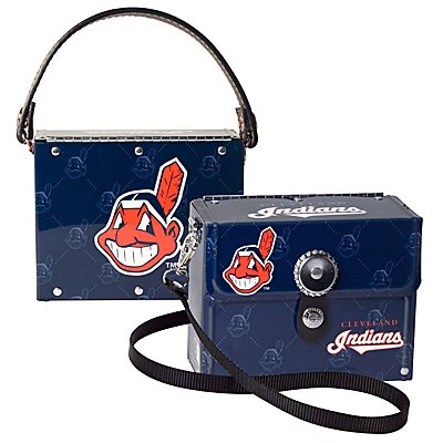 Cleveland Indians Littlearth Fanatic License Plate Purse Bag Gift