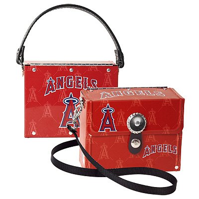 Los Angeles Angels Littlearth Fanatic License Plate Purse Bag Gift