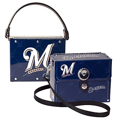 Milwaukee Brewers Littlearth Fanatic License Plate Purse Bag Gift